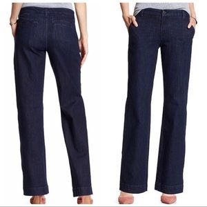 Banana Republic Trouser Style Mid Rise Jeans